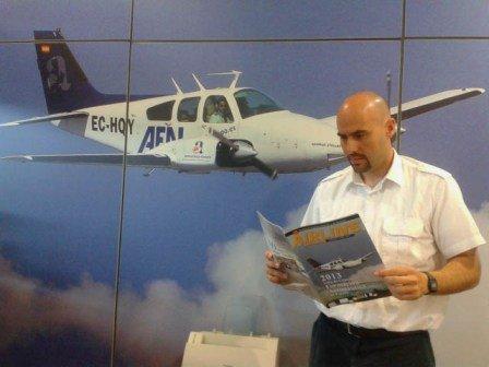 Entrevista en revista Airline92