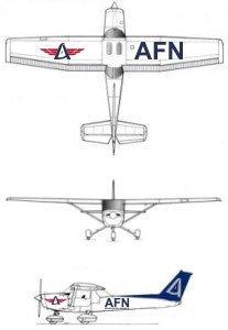 AFN Escuela de Pilotos - Cesna 152